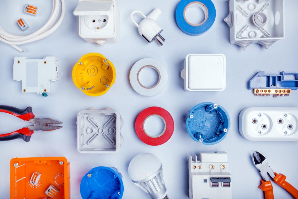 【単品】第二種電気工事士技能試験の器具と材料
