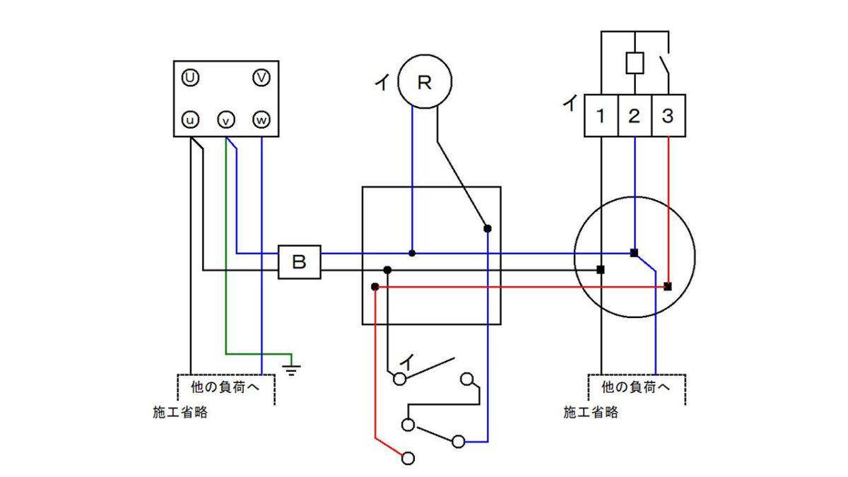 手順6:器具と器具を条件どおりに接続