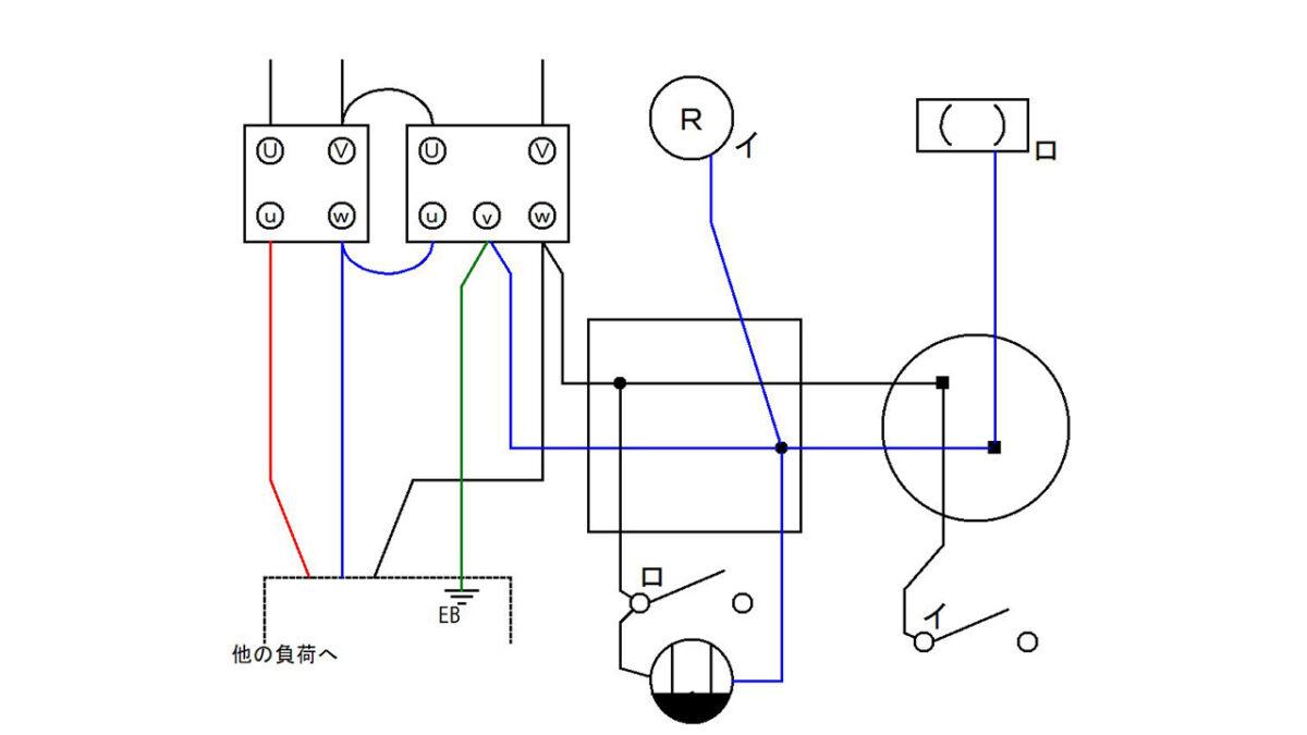 手順4:電源の非接地側と該当する器具を接続