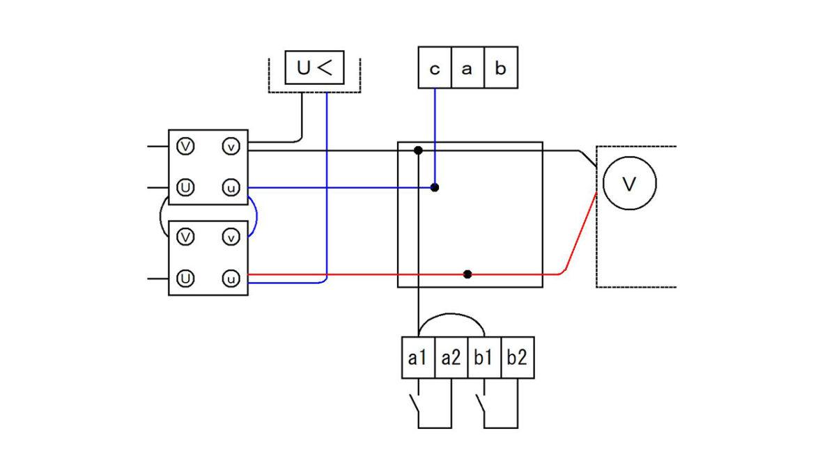 手順5:電源の赤線と該当する器具を接続