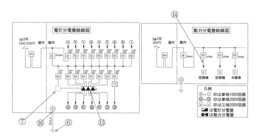 平成30年度第二種電気工事士下期試験配線図2
