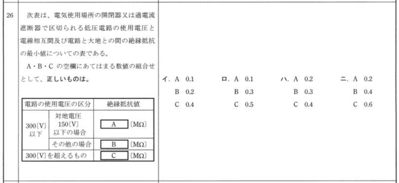 平成23年度上期試験問26